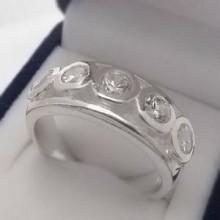Strieborný prsteň KPS134