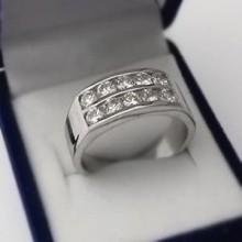 Strieborný prsteň KPS168