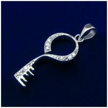 Strieborný prívesok Kľúč (KPRS001)