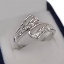 Luxusný strieborný prsteň (KPS159)