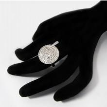 Luxusný strieborný prsteň so zirkónmi (KPS161)