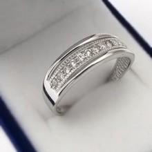 Strieborný prsteň (KPS164)