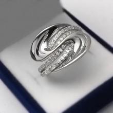 Strieborný prsteň (KPS166)