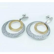 Náušnice kruhy z chirurgickej ocele (KNA039)