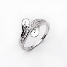 Strieborný prsteň KPS003