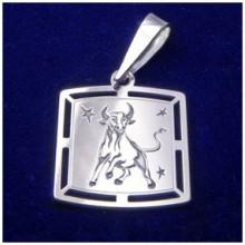 Strieborný prívesok-znamenie býk