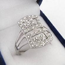 Strieborný prsteň KPS014