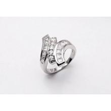 Strieborný prsteň KPS001