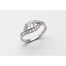 Strieborný prsteň KPS008