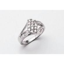 Strieborný prsteň KPS010