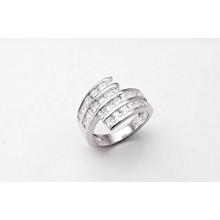 Strieborný prsteň KPS015