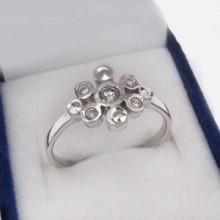 Strieborný prsteň KPS017
