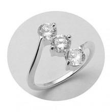 Strieborný prsteň KPS019