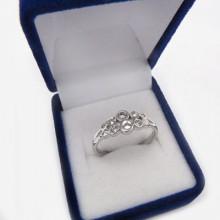 Strieborný prsteň KPS022