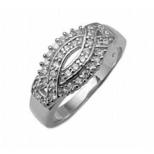 Strieborný prsteň KPS023