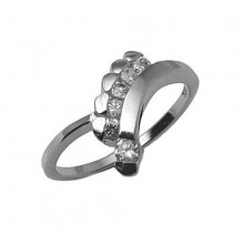 Strieborný prsteň KPS025