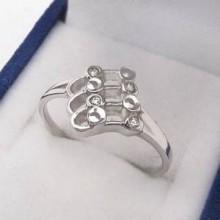Strieborný prsteň KPS027