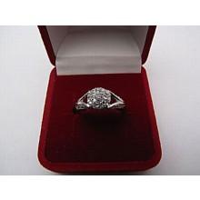 Strieborný prsteň KPS028