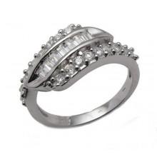 Strieborný prsteň KPS029