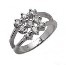 Strieborný prsteň KPS032