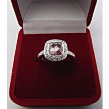 Strieborný prsteň KPS036
