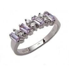 Strieborný prsteň KPS038