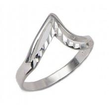 Strieborný prsteň KPS041