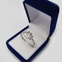 Strieborný prsteň KPS044
