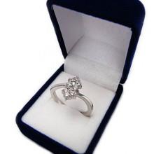 Strieborný prsteň KPS052