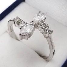 Strieborný prsteň KPS059