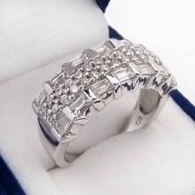 Strieborný prsteň KPS061