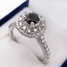 Strieborný prsteň KPS064