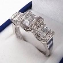 Strieborný prsteň KPS068