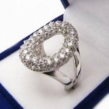 Strieborný prsteň KPS071