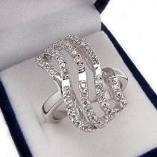 Strieborný prsteň KPS072