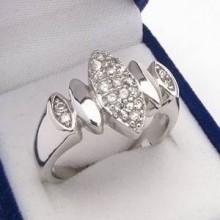 Strieborný prsteň KPS081