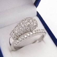 Strieborný prsteň KPS082