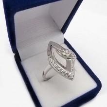 Strieborný prsteň KPS086