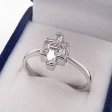 Strieborný prsteň KPS091
