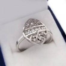 Strieborný prsteň KPS098