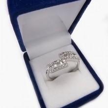 Strieborný prsteň KPS102