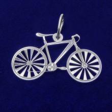 Strieborný prívesok bicykel (KPRS084)
